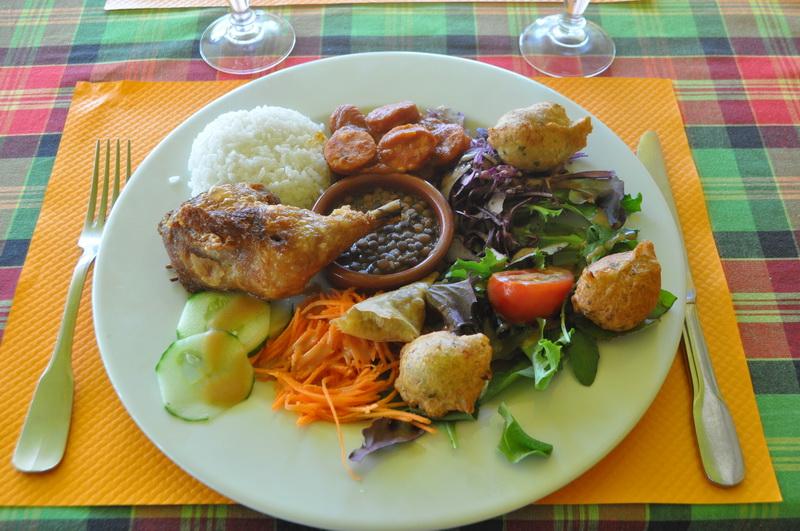 Galerie photos des plats le cocotier restaurant antillais cuisine cr ole marignane - Repas pas cher mariage ...